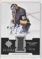 Marc-Andre Fleury #/65