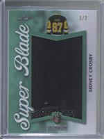 Sidney Crosby [Noted] #/2