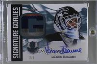 Manon Rheaume [Noted] #/5