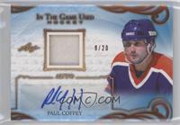Paul Coffey #/20