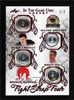 Wayne Gretzky , Mario Lemieux , Brett Hull , Brendan Shanahan [Goodto&nbs…