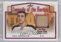 Phil Esposito #/4