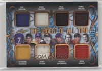 Tim Horton , Raymond Bourque , Borje Salming , Denis Potvin , Paul Coffey , Jac…