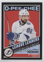 League Leaders - Nikita Kucherov #/100