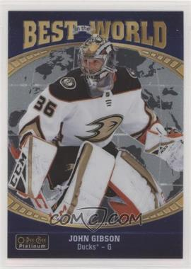 2019-20 O-Pee-Chee Platinum - Best in the World #BW-1 - John Gibson