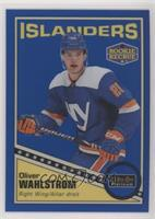 Oliver Wahlstrom #/149