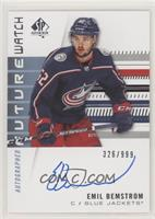 Autographed Future Watch Rookies - Emil Bemstrom #/999
