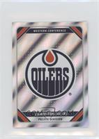 Foil NHL Team Stickers - Edmonton Oilers