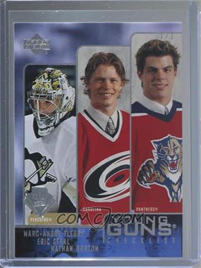 2019-20 Upper Deck - 2003-04 Upper Deck Buybacks #245 - Series 1 - Nathan Horton, Marc-Andre Fleury, Eric Staal /1