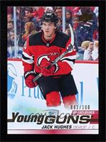 Young Guns - Jack Hughes #2/100