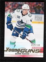 Young Guns - Quinn Hughes #/100
