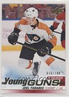 Young Guns - Joel Farabee #/100