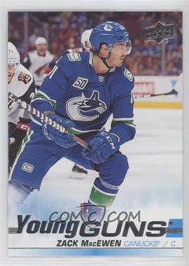 2019-20 Upper Deck - [Base] #244 - Young Guns - Zack MacEwen
