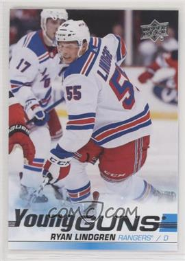 2019-20 Upper Deck - [Base] #459 - Young Guns - Ryan Lindgren