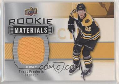 2019-20 Upper Deck - Rookie Materials #RM-TF - Trent Frederic