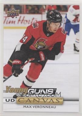 2019-20 Upper Deck - UD Canvas #C101 - Young Guns - Max Veronneau