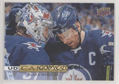 2019-20 Upper Deck - UD Canvas #C47 - Blake Wheeler