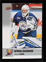 Star Rookie SP - Arturs Silovs