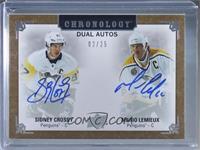 Sidney Crosby, Mario Lemieux #/25