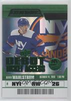 Debut Ticket Access - Oliver Wahlstrom [EX to NM] #/25