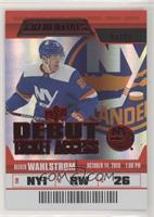 Debut Ticket Access - Oliver Wahlstrom #/99