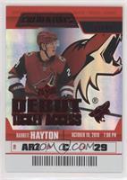 Debut Ticket Access - Barrett Hayton #/99