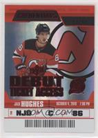 Debut Ticket Access - Jack Hughes #/99