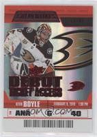 Debut Ticket Access - Kevin Boyle #/99