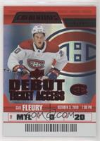Debut Ticket Access - Cale Fleury #/99