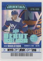 Debut Ticket Access Tier 3 - Oliver Wahlstrom #/499