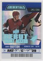 Debut Ticket Access Tier 4 - Barrett Hayton #/299