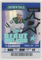 Debut Ticket Access Tier 1 - Nick Caamano #/999