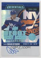 Tier 1 - Oliver Wahlstrom #/299