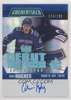 Tier 2 - Quinn Hughes #/199