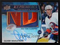Oliver Wahlstrom #/10
