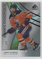 Authentic Rookies - Josh Currie #/5