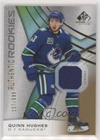 Authentic Rookies - Quinn Hughes #/599