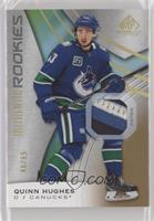 Authentic Rookies - Quinn Hughes #/65