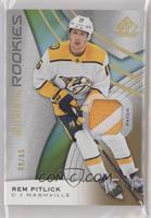 Authentic Rookies - Rem Pitlick #/65