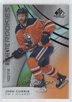 Authentic Rookies - Josh Currie #102/118