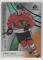 Authentic Rookies - Kirby Dach [NoneEXtoNM] #/119