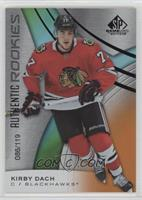 Authentic Rookies - Kirby Dach #/119