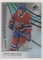 Authentic Rookies - Ryan Poehling #/299