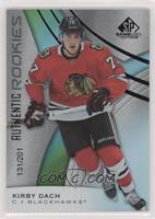 Authentic Rookies - Kirby Dach #/201
