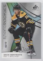 Authentic Rookies - Zach Senyshyn #/19