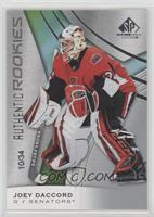 Authentic Rookies - Joey Daccord #/34