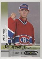 Carey Price #/999