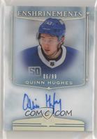 Rookies - Quinn Hughes #/99