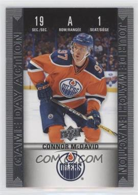 2019-20 Upper Deck Tim Hortons Collector's Series - Historic Game Day Action #HGD-1 - Connor McDavid