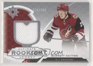 2019-20 Upper Deck Ultimate Collection - [Base] - Ultimate Rookies Jerseys [Memorabilia] #181 - Ultimate Rookies - Barrett Hayton /399